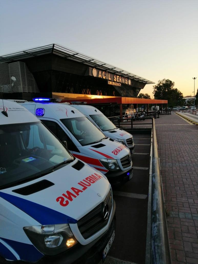 özel ambulans köşk