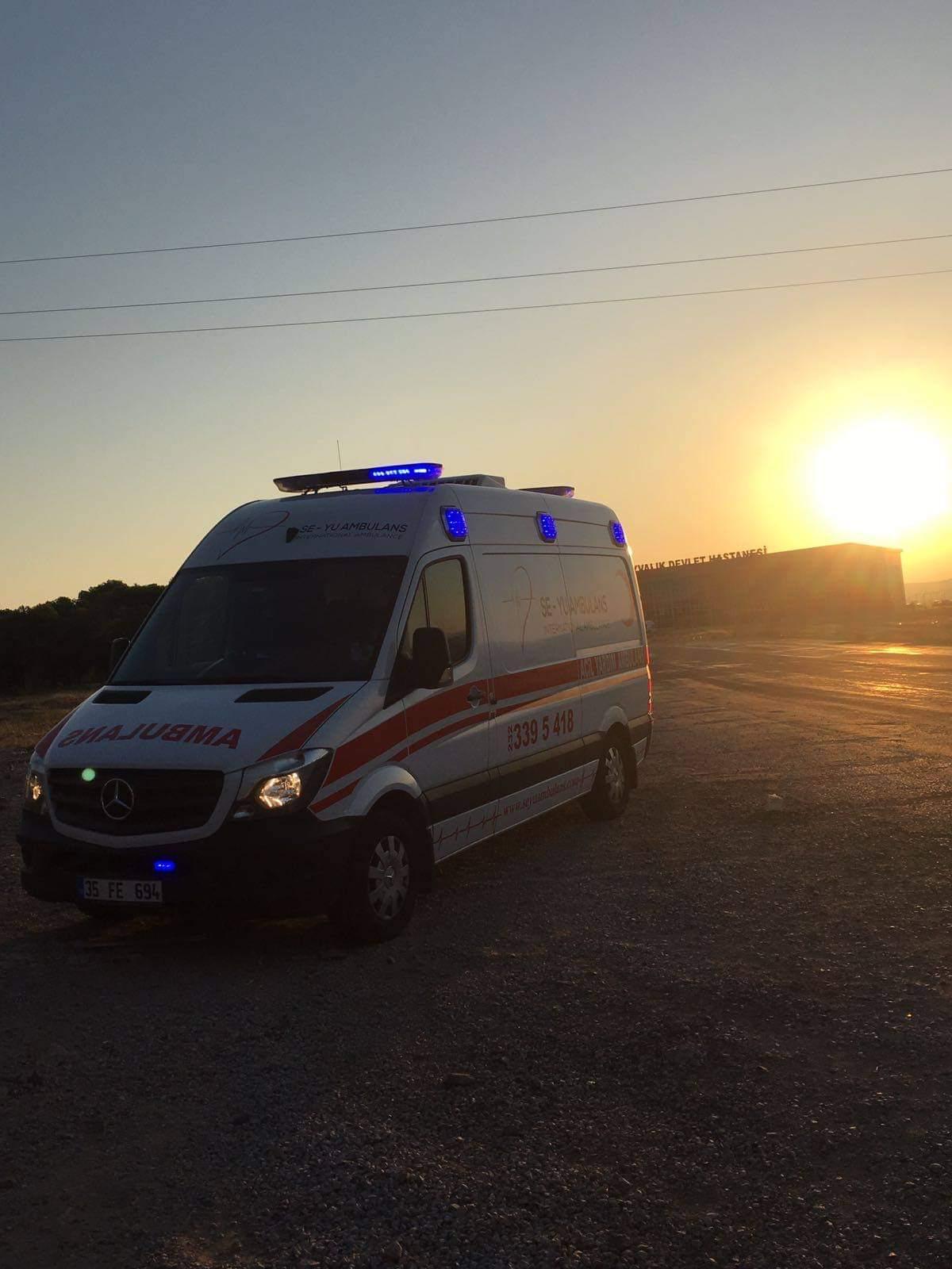özel ambulans incirliova
